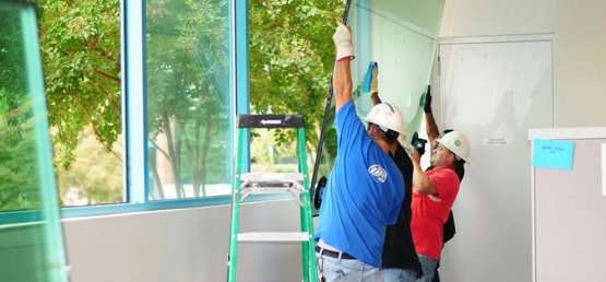 glass repair services